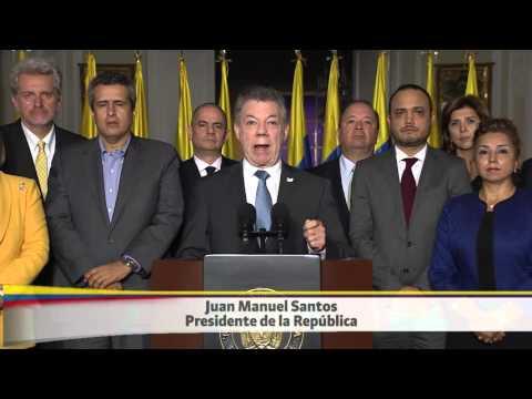 Alocución del Presidente Juan Manuel Santos sobre decisiones de la Haya - 17/03/2016