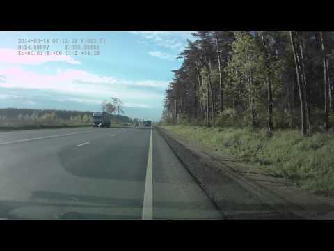 ДТП на Новорязанском шоссе 14.05.2014