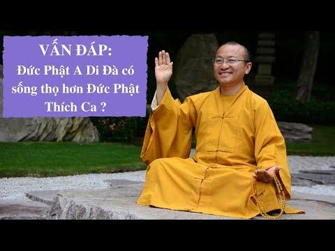 Vấn đáp: Đức Phật A Di Đà có sống thọ hơn Đức Phật Thích Ca ?