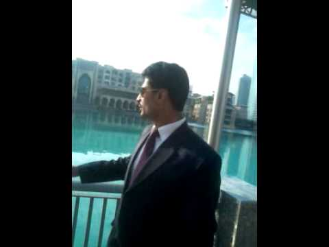 Mani Abbasi At Dubai Mall video