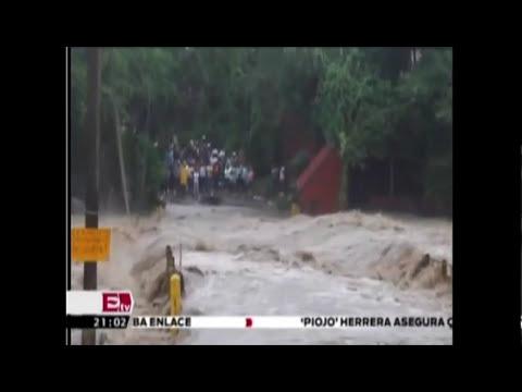Las tormentas tropicales Manuel e Ingrid, azotan al país / Titulares, con Pascal Beltrán.