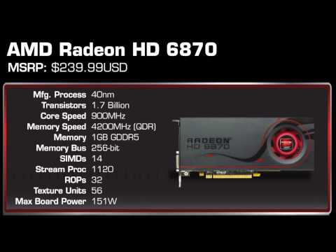 AMD Radeon 6800 Series HD 6870 and 6850 Overview and Benchmarks
