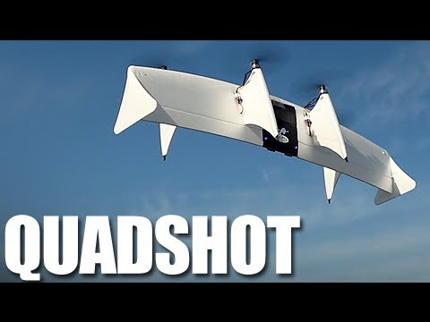 Flite Test - Quadshot - REVIEW