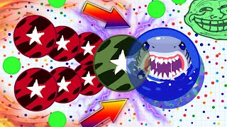 Agar.io - AGARIO TROLLING // TEAMMODE TROLLING // AGARIO GAMEPLAY (Epic Agar.io Gameplay)