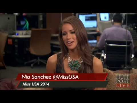 Why Miss USA Nia Sanchez Dismissed Suggestions To Change Her Last Name