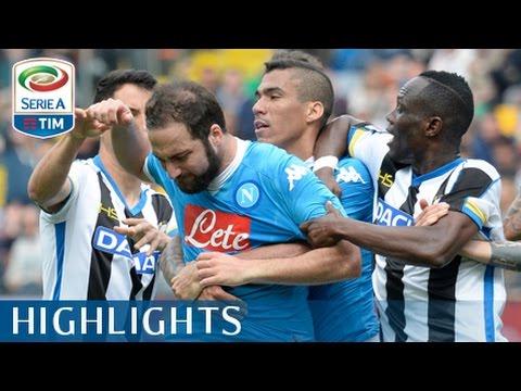 Udinese - Napoli  3-1 - Highlights - Giornata 31 - Serie A TIM 2015/16