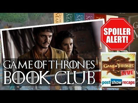 GAME OF THRONES Book Club: Comic-Con, Season Five Casting And More