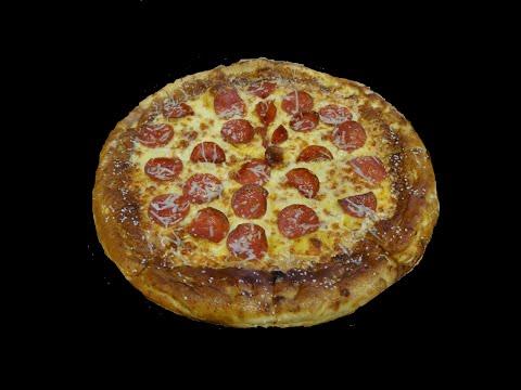 Soft Pretzel Crust Pizza Little Caesars Review ~ Video Taste Test