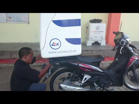 Pemasangan Bracket Box Lazada Express