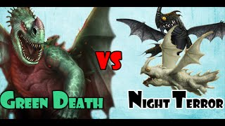 Green Death vs Night Terror