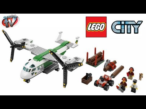 LEGO City Cargo Heliplane 60021 Toy Review