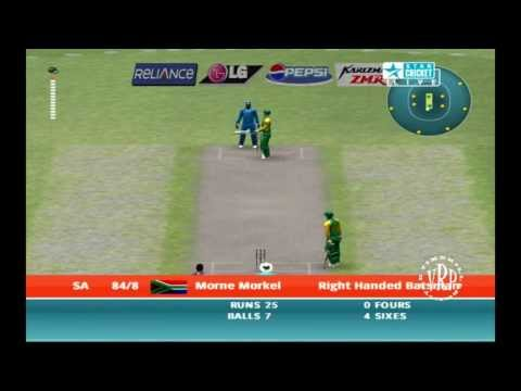 India vs South Africa : Ea Sports Cricket 2007 Knockout Cup - Part 2