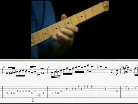 Wayne Krantz Solo Video_Tab