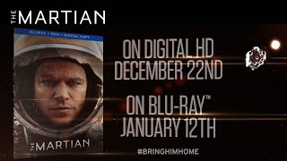 The Martian | On Digital HD and Blu-Ray [HD] | 20th Century FOX - Продолжительность: 35 секунд