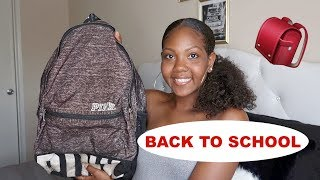 Back to School Backpack Essentials 2018!