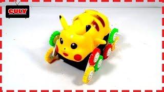 Xe đồ chơi Pikachu nhào lộn Pokemon Stunt Car toy for kids