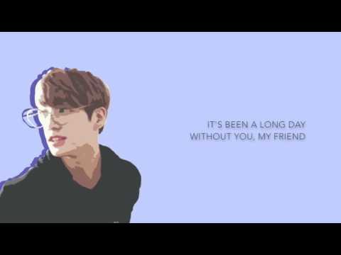 BTS Jungkook - 'See You Again' (Cover) [Eng lyrics]