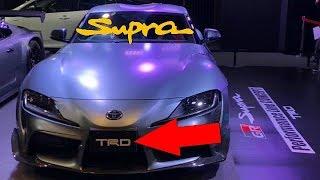 2020 Toyota GR Supra PERFORMANCE Tuned TRD Line Concept