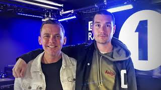 dan bastille on the official chart with scott mills october 5th, 2018