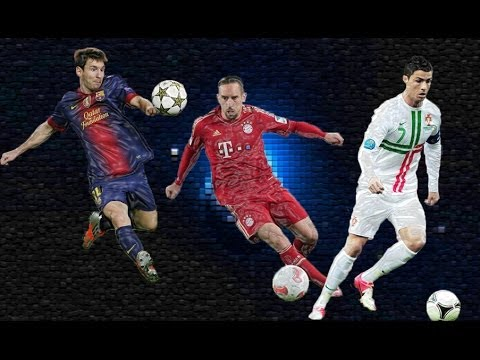 Lionel Messi Vs Franck Ribery Vs Cristiano Ronaldo | Ballon D'or 2013 | Hd video