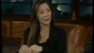 Michelle Yeoh on Late Late Show with Craig Furgueson (Part 1)