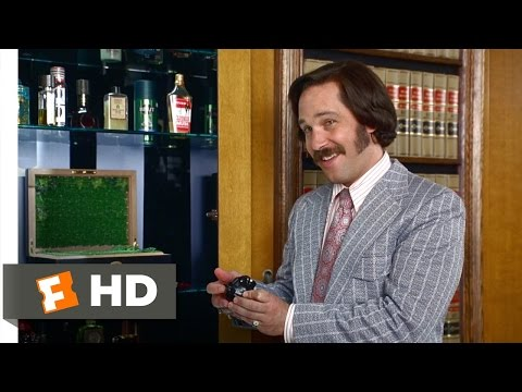 Anchorman: The Legend of Ron B... is listed (or ranked) 35 on the list My Top Movies of All Time!!!