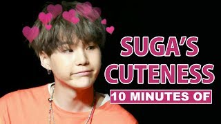 10 Minutes of BTS Suga's Cuteness
