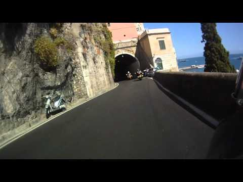 The Boundary 500 Motorcycle Group ride The Amalfi Coast Part 2.wmv