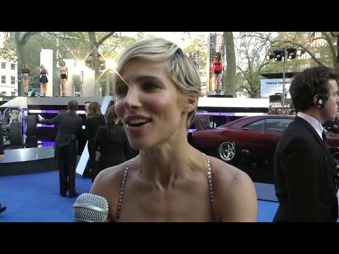Elsa Pataky Interview - Fast and Furious 6 World Premiere