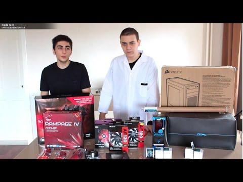 Inside Tech - PC Toplama Rehberi - 2 ''Özel Yapım Sıvı Soğutmalı PC''