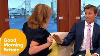 Kate Garraway Flashes Ben and Susanna! | Good Morning Britain