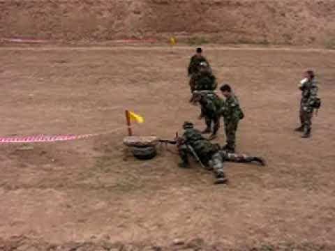 Ruptura de contacto-Ejercito Argentino Escuela infanteria