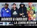 "Jadakiss & Fabulous Talk New Album ""Friday on Elm Street"", Fav Sneakers of 2017 and more!"