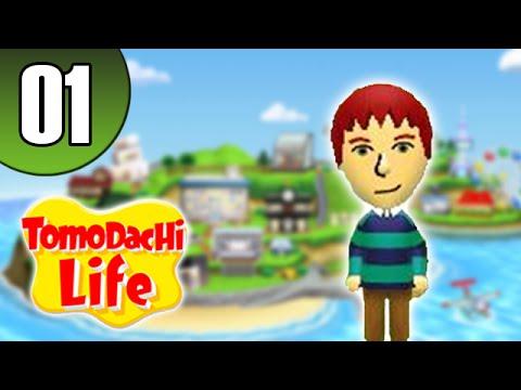 Tomodachi Life 01 [Let's Play FR]- Nouvelle vie...intéressante !
