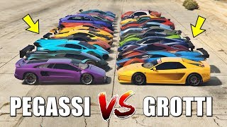 GTA 5 ONLINE - PEGASSI VS GROTTI (WHICH IS FASTEST?)