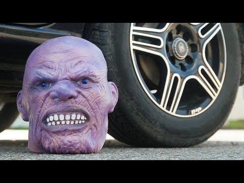 CAR VS THANOS INFINITY HEAD