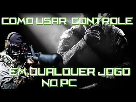 como usar Controle/Joystick em qualquer jogo de pc