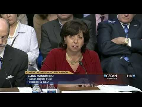 Elisa Massimino Testifies at Guantanamo Bay hearing July 24, 2013