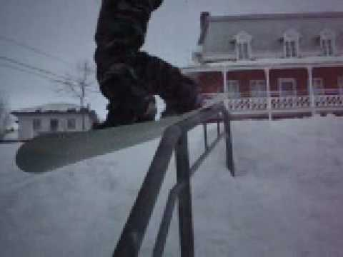 J-R snowboard rail