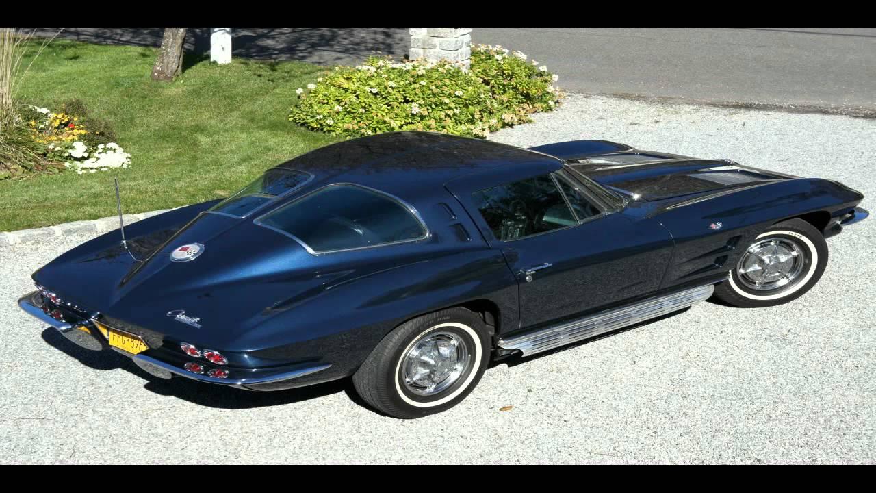 SOLD1963 Corvette Split Window Daytona Blue For Sale