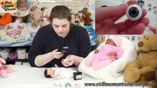 Different eyes for your reborn baby dolls + Bloopers - The SMN Show #208