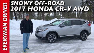 Off-Road (FAIL): 2017 Honda CR-V AWD on Everyman Driver