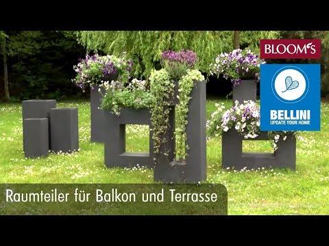 DIY: Blumiger Raumteiler Für Balkon Und Terrasse