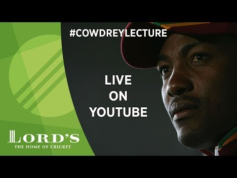 Brian Lara Lords Cowdrey Lecture 2017