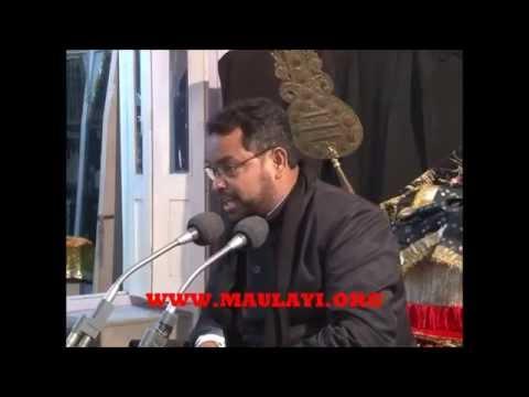 Majlis At Husainiya Afzal Mahal Lucknow By Maulana Meesam Zaidi 1 Muharram 2012 video