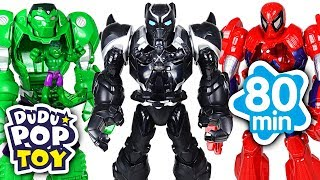 March 2018 TOP 10 Videos 80min Go! Avengers, Paw patrol and PJmasks - DuDuPopTOY