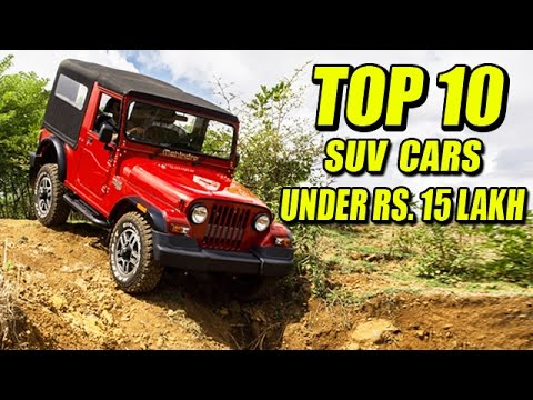 Top SUVs in India Under Rs.15 Lakh