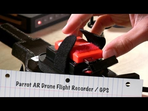 Review of the GPS Parrot AR Drone Flight Recorder - Autonomous GPS Flight !