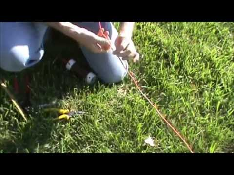 Tuning the 40/80 Meter Inverted V Dipole Antenna