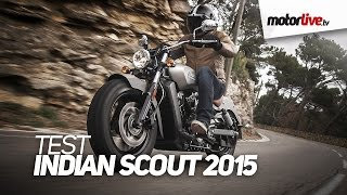 TEST | INDIAN SCOUT 2015